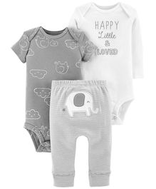 Carter's 3-Piece Little Character Set - Grey