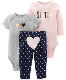 Carter's 3-Piece Little Character Set - Multicolour