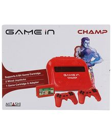 Mitashi GAMEin Red Champ