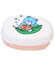 Fab N Funky - Bear And Leaf Print Bath Sponge