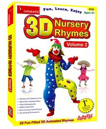 Infobells - 3D Nursery Rhymes Volume 2 DVD