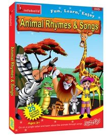 Inforbells - Animal Rhymes And Songs DVD