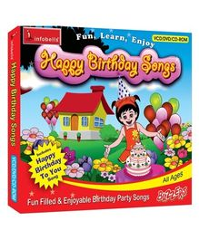 Infobells - Happy Birthday Songs DVD VCD CDRom