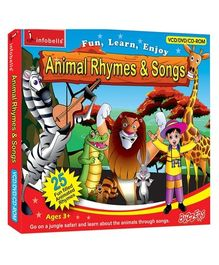 Infobells - Animal Rhymes And Songs DVD VCD CD Rom