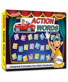 Buzzers - Action words DVD VCD CD ROM