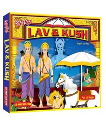 Buzzers - Lav And Kush English Hindi CD ROM