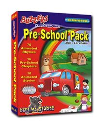 Buzzers - Pre School Pack DVD, VCD, CD ROM