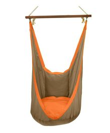 Slackjack Kids Swing - Brown & Orange