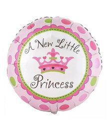 Party Anthem A New Little Princess Foil Balloon - Pink