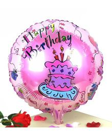 Party Anthem Happy Birthday Foil Balloon - Pink