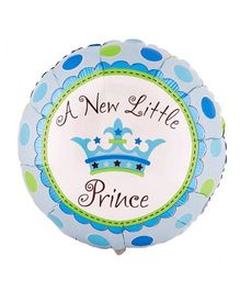 Party Anthem A New Little Prince Foil Balloon - Blue