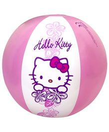 Hello Kitty -  Pink and White Inflatable Ball