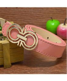 Milonee Trendy Belt With Buckle - Peach