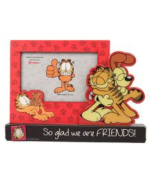 Archies Garfield Photoframe Friends Print - Red