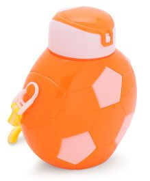 Sipper Water Bottle Football Design Orange - 800 ml