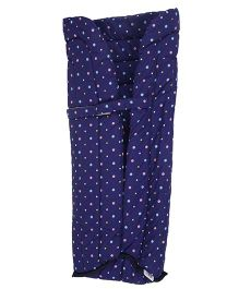 Grandma's Baby Carrier Insert for Newborn Polka Dots - Purple