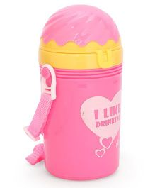 Flip Open Sipper Bottle Pink -  500 ml