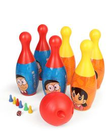 Doraemon Bowling Set - Red Yellow