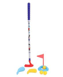 Doraemon Character Printed Golf Set - Blue