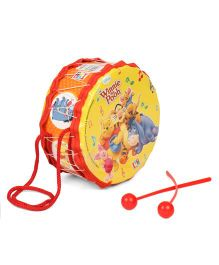 Winnie The Pooh Small Toy Drum Set - Yellow