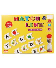 Prime Match And Link Game - Yellow