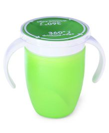 Munchkin Miracle Spoutless Twin Handle Cup Green - 207 ml