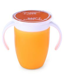 Munchkin Miracle Spoutless Twin Handle Cup Orange - 207 ml