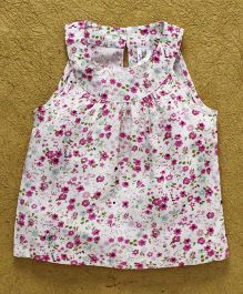 Bee Born Small Flower Print Dress - Pink