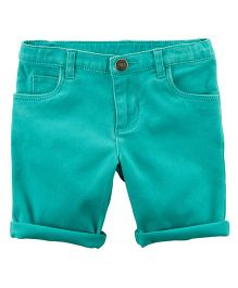 Carter's Stretch Skimmer Shorts - Turquoise Blue
