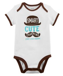 Carter's Just Like Daddy Collectable Bodysuit - Ivory