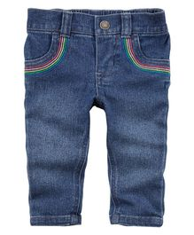 Carter's Rainbow Jeans - Blue