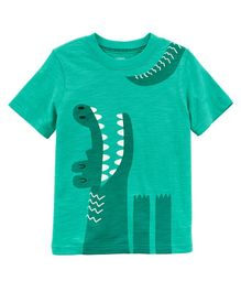 Carter's Alligator Jersey Tee - Turquoise Green