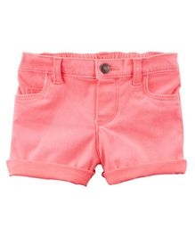 Carter's Stretch Skimmer Shorts - Pink