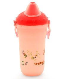 Water Bottle Peach - 400 ml