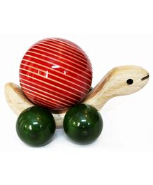 Aatike - Wooden Pigo Turtle Moving toy