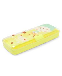 Pencil Box - Light Yellow