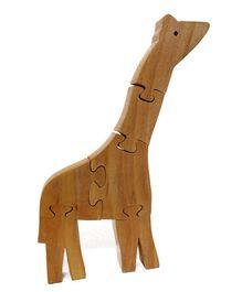 Aatike - Wooden Puzzle Giraffe Toy