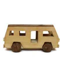 Aatike -  Wooden Bus Toy