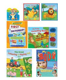 Sterling Play & Learn Gift Book Set Of 13 - English