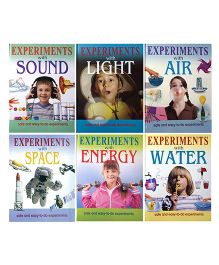 Sterling Science Experiments Book Set Of 12 - English