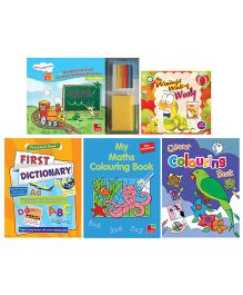 Sterling Read & Learn Book Set Of 9 - English