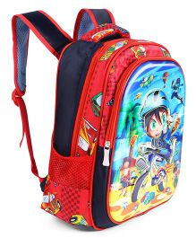 School Bag Multi Colour - 12.5 Inches