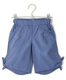 Cubmarks Tie Up Shorts - Blue