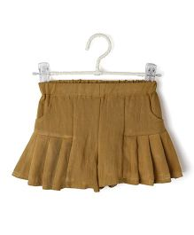 Cubmarks Pleats Styling Skirt - Green