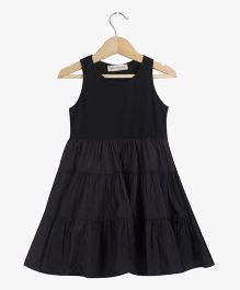 Cubmarks Tiered Party Dress - Black