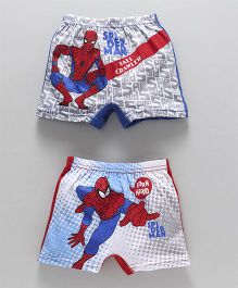 Bodycare Boxer Briefs Spider Man Print - Pack of 2 (Color And Print May Vary)