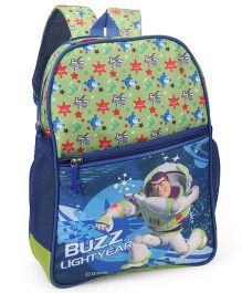 Toy Story School Bag Blue Green - 14 inches