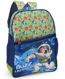 Toy Story School Bag Green Blue - 14 inches