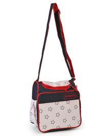 Babyhug Vogue Denim Diaper Bag Star - Navy
