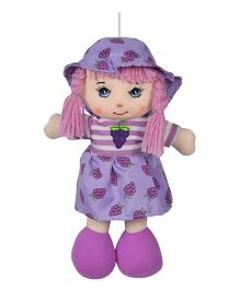 Ultra Candy Doll Grapes Print Dress Purple - 26 cm